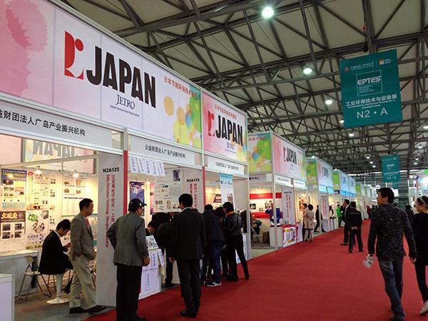 【2014工业博览会】日本馆展台翻译派遣业务