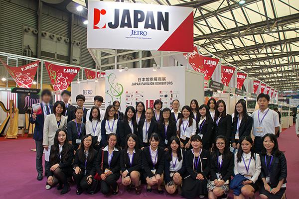 【上海乐器展2014】日本馆展台助理派遣业务