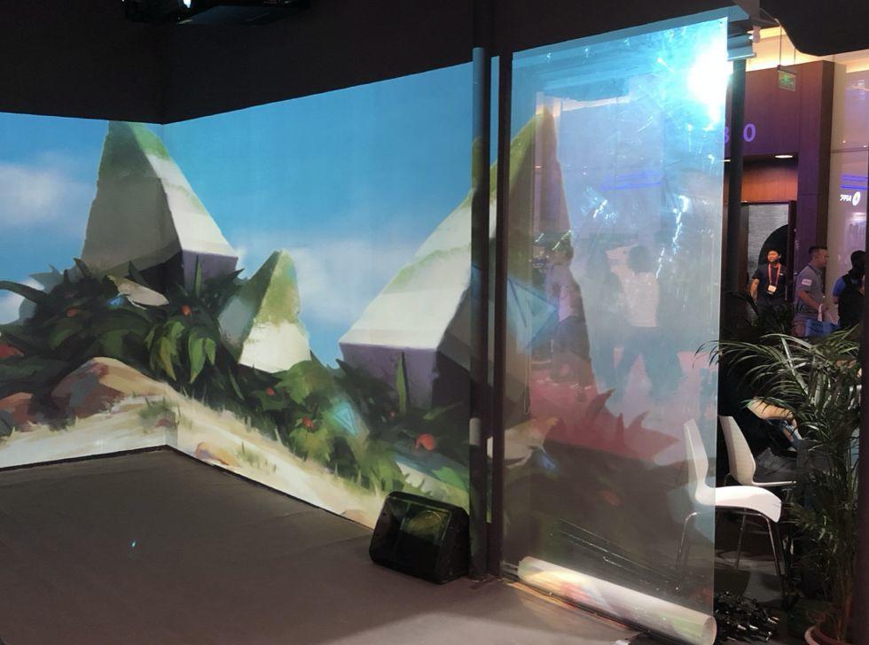 """互动体验式显示无处不在,JXTG能源集团掘金""""透明投影膜""""应用蓝海"""